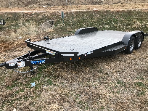 USED 2018 Top Hat 83 in X 18 ft Car-Hauler