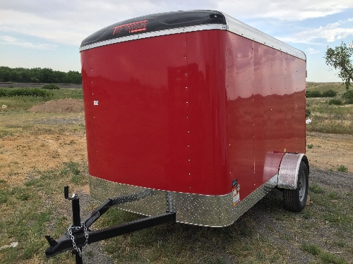 NEW 2017 TNT Trailer 72 in X 10 ft